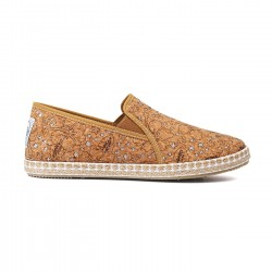Flossy slip-on boutique natural