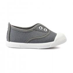 Zapatillas Flossy lona trapillo gris