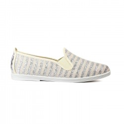 Flossy slip-on tormantos plata