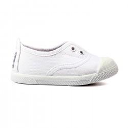 Zapatillas Flossy lona trapillo blanco