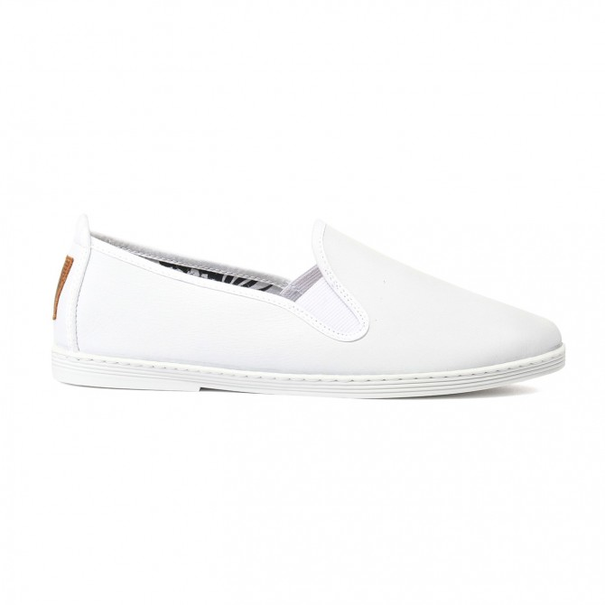FLOSSY SLIP-ON Blanco Varea
